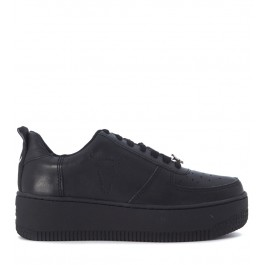 Windsor Smith Racerr black leather sneakers