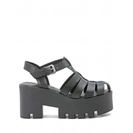 Windsor Smith Fluffy black sandal
