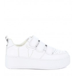 Sneaker Windsor Smith Fastt in pelle bianca