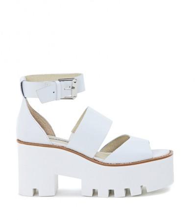 Sandalo Windsor Smith mod. Puffy bianco | H-Brands.com