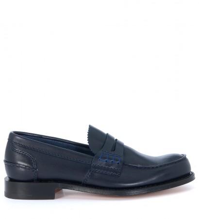 Church's Pembrey blue loafer