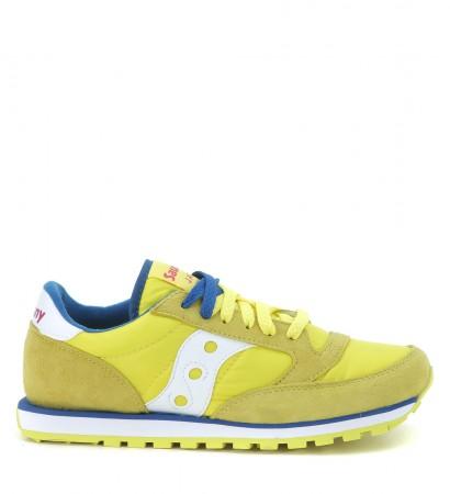 Sneaker con lacci Saucony, mod. Jazz giallo/bianco