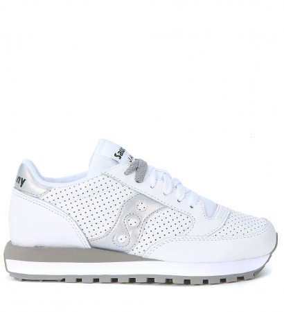 Sneaker Saucony Jazz Limited Edition in pierced white leather