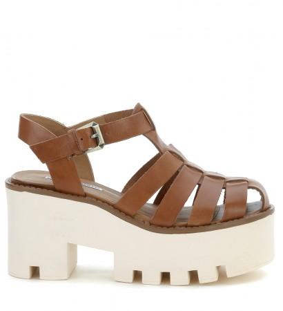 Sandalo Windsor Smith in pelle color cuoio