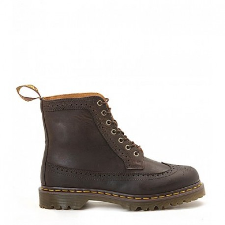 DR. MARTENS BROWN COUNTRY BROGUE BOOT
