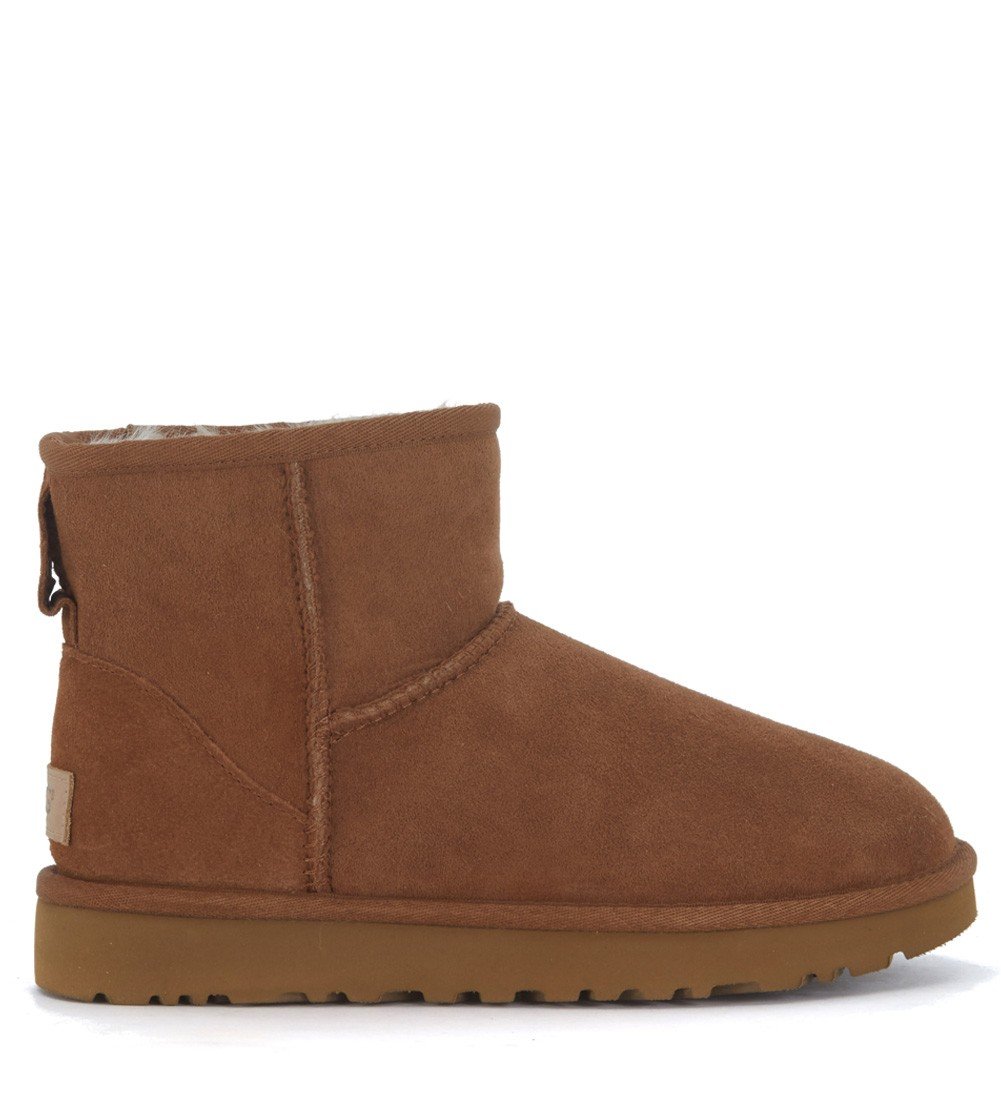 UGG Classic II Mini boot in taupe color sheepskin | H Brands