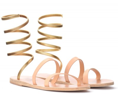 Laterale Ancient Greek Sandals Ofis sandal in natural leather