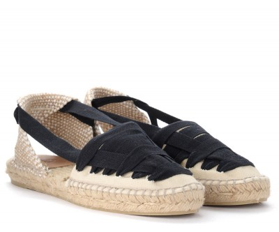 Laterale Castañer Jean espadrille sandals in ivory cotton