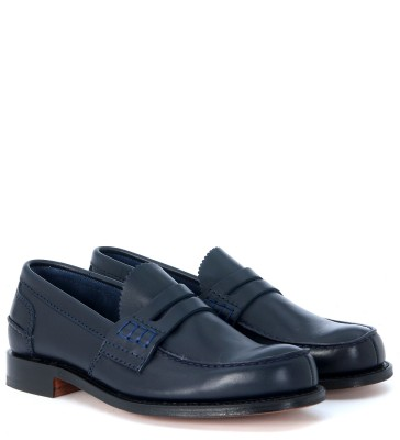 Laterale Church's Pembrey blue loafer