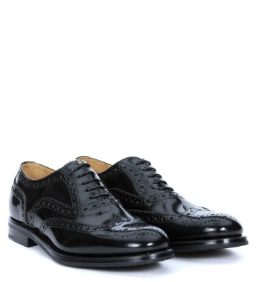 Laterale Church's Burwood lace up black patent leather