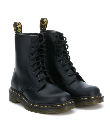 Laterale Dr Martens Classic 8 Eyelet Black Boot