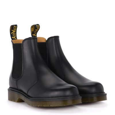 Laterale Dr. Martens 2976 black leather ankle boots