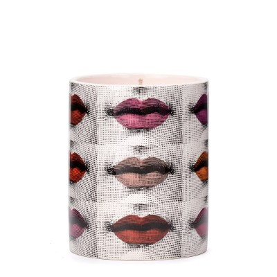 Laterale  Fornasetti candle print porcelain lipsticks