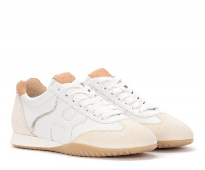 Laterale Hogan Olympia-Z sneakers in white leather