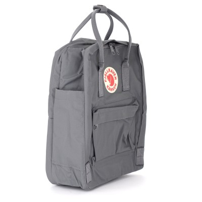 Laterale Kånken by Fjällräven 13 '' grey backpack with front pocket