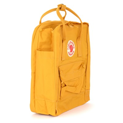 Laterale Kånken by Fjällräven 13''ochre backpack with front pocket