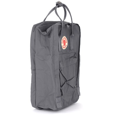 Laterale Kånken by Fjällräven 17'' grey backpack with front pocket