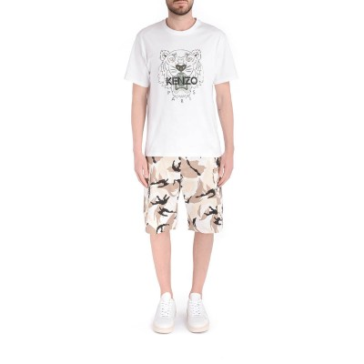 Laterale Kenzo Bermuda with Tropic Camo print