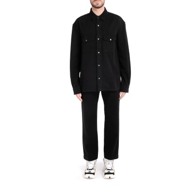 Laterale Kenzo shirt in black cotton