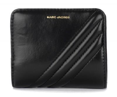 Laterale Portafoglio The Marc Jacobs Mini Compact nero