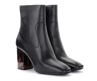 Laterale Michael Kors Marcella ankle boot in black leather