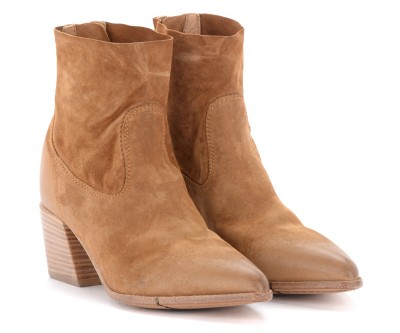 Laterale Moma ankle boots in brown suede