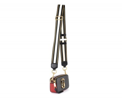 Laterale The Marc Jacobs Snapshot black and red shoulder bag