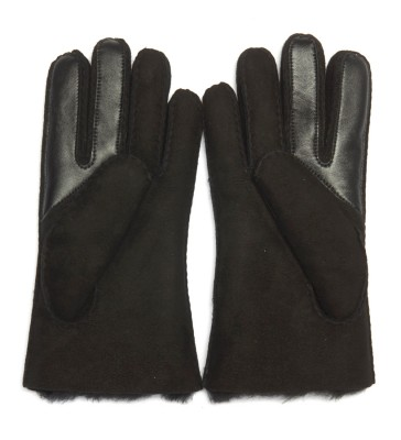 Laterale Ugg black suede gloves