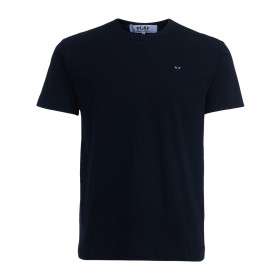 Comme des Garçons PLAY men's black t-shirt with black heart