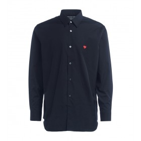 Comme Des Garcons PLAY shirt in black