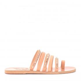 Ancient Greek Sandals Niki Diamonds leather sandal.