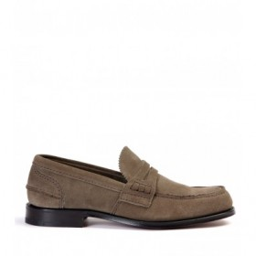 CHURCH'S PEMBREY DOVE-GREY LOAFER