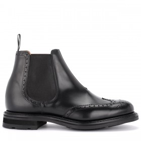 Beatles Church's Coldbury shoe in black brushed calf leather