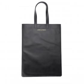 Comme Des Garçons shopping bag in black leather