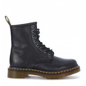 Dr. Martens 8 holes black nappa leather ankle boots
