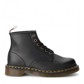Dr. Martens 101 black vegan leather ankle boots