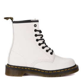 Dr. Martens 1460 Smooth white leather ankle boots