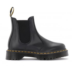 Dr. Martens 2976 Bex Smooth combat boot in black leather