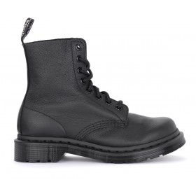 Dr. Martens Pascal Mono black tumbled leather ankle boots