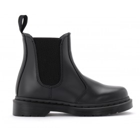 Dr. Martens 2976 Mono model combat boot made of black leather