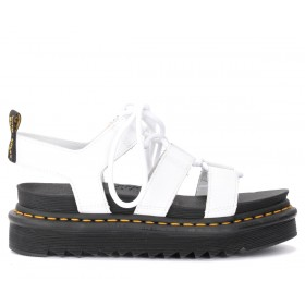 Dr. Martens Nartilla sandals in white leather