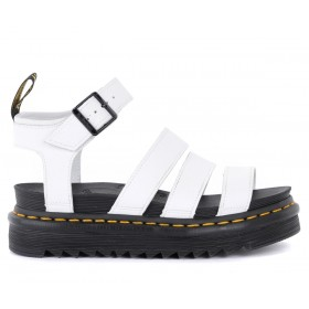 Dr. Martens Blaire sandal in white leather