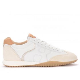 Hogan Olympia-Z sneakers in white leather