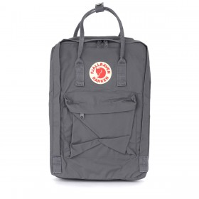 Kånken by Fjällräven 17'' grey backpack with front pocket