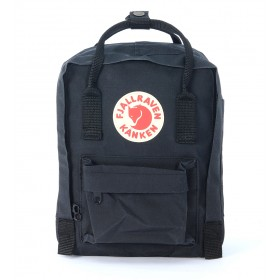 Kånken by Fjällräven mini black backpack