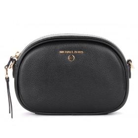 Michael Kors Oval shoulder bag in black leather