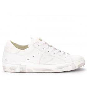 Philippe Model Paris X model sneakers in white goatskin