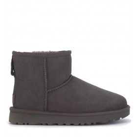 UGG Classic II Mini ankle boots in grey suede