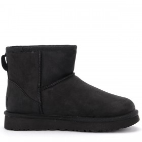 Ugg Classic II Mini ankle boot in black leather