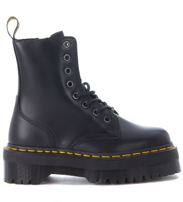 Dr. Martens Jadon black leather ankle boots with maxi grip fast sole